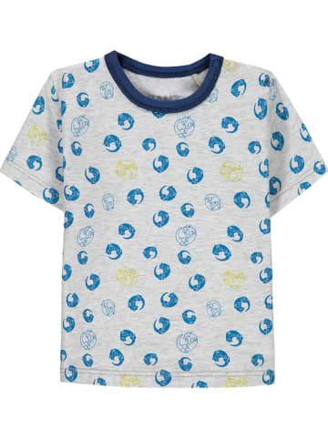 Kanz Koszulka w kolorze szaro-niebieskim
