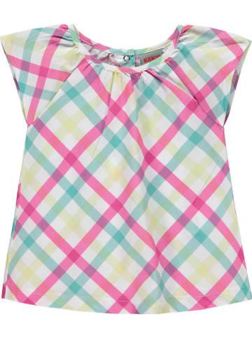 Kanz Bluse in Pink/ Bunt