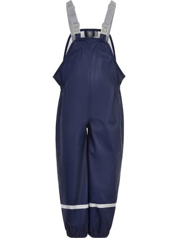 Color Kids Spodnie przeciwdeszczowe w kolorze granatowym