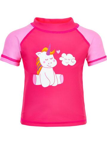 Color Kids Koszulka kąpielowa w kolorze różowym