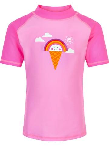 Color Kids Koszulka kąpielowa w kolorze jasnoróżowym