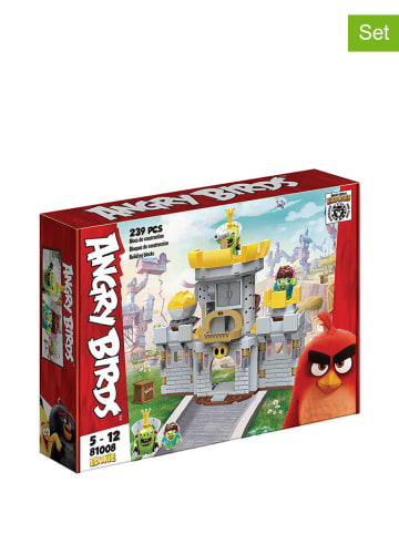 "Angry Birds Zestaw klocków ""Birds Pig Castle"" - 239 el. - 5+"