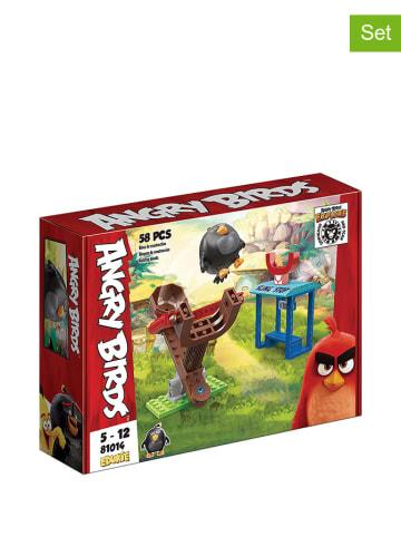"Angry Birds Zestaw klocków ""Sling Stop"" - 58 el. - 5+"