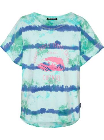 "Chiemsee Koszulka ""Boga"" w kolorze turkusowym"