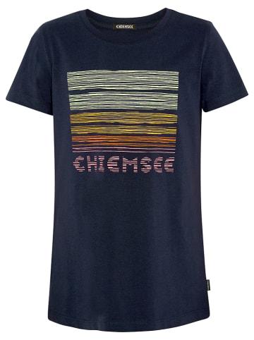 """Chiemsee Koszulka """"Capelin"""" w kolorze granatowym"""