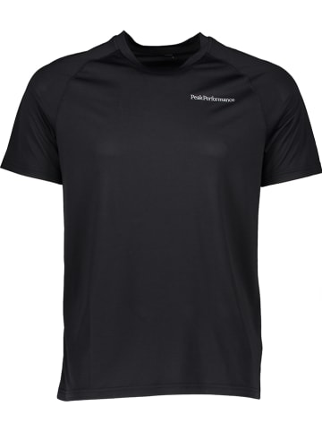 """Peak Performance Koszulka sportowa """"Fly"""" w kolorze czarnym"""