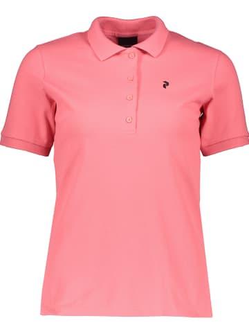 "Peak Performance Poloshirt ""Classic"" roze"