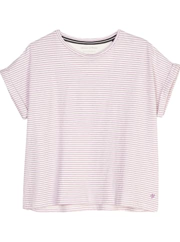 Marc O'Polo Junior Shirt lichtroze/wit