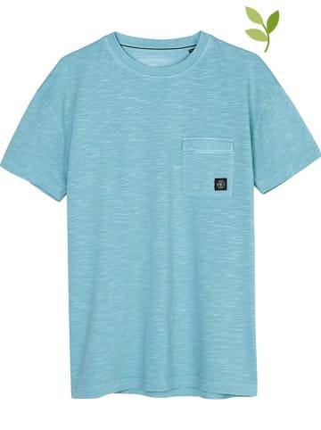 Marc O'Polo Junior Koszulka w kolorze turkusowym