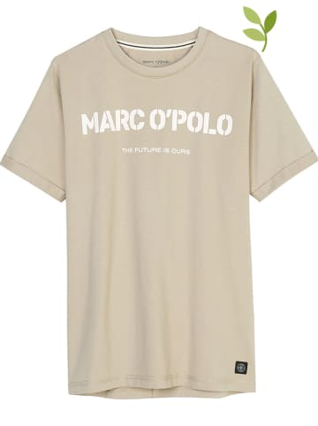 Marc O'Polo Junior Koszulka w kolorze beżowym