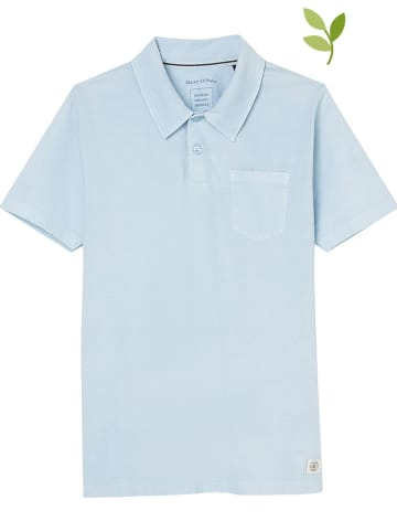 Marc O'Polo Junior Poloshirt lichtblauw