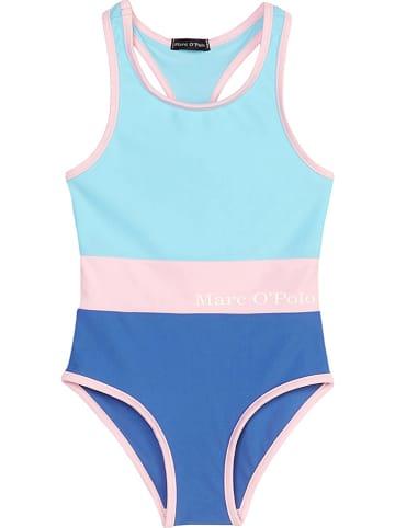 Marc O'Polo Junior Strój kąpielowy w kolorze błękitno-niebieskim