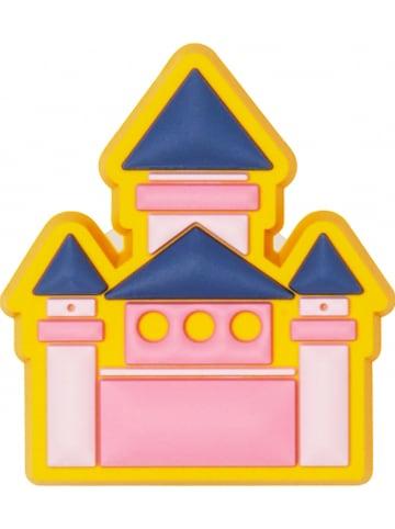 """Crocs Schoensieraad """"Castle"""" donkerblauw/geel"""