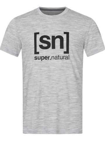 Super.natural Koszulka sportowa w kolorze szarym