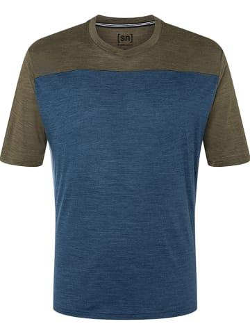 Super.natural Koszulka sportowa w kolorze granatowym