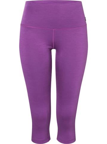 Super.natural Legginsy sportowe w kolorze fioletowym