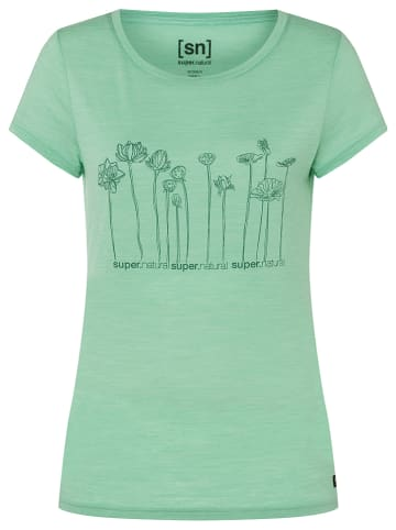 Super.natural Koszulka w kolorze zielonym
