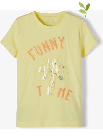 "Name it Shirt ""Fefa"" geel"