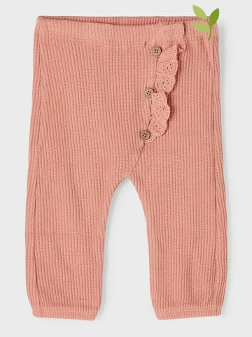 """Name it Spodnie """"Hanneen"""" w kolorze jasnoróżowym"""