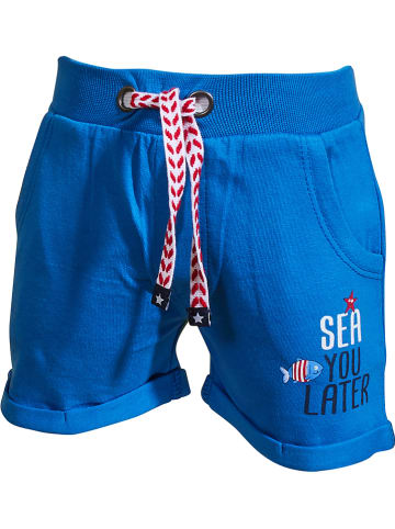 "Salt and Pepper Shorts ""Ahoy"" in Blau"