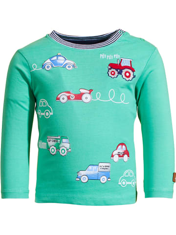 "Salt and Pepper Koszulka ""Adventure"" w kolorze zielonym"