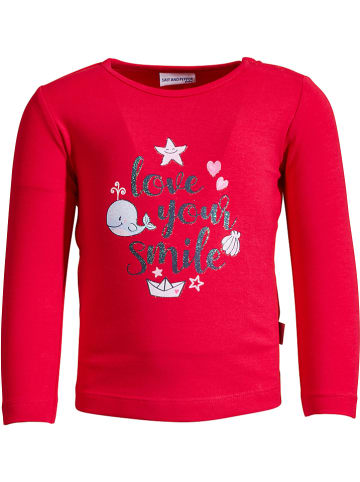 "Salt and Pepper Koszulka ""Seaside"" w kolorze czerwonym"