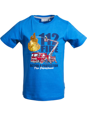"""Salt and Pepper Koszulka """"Rescue"""" w kolorze niebieskim"""