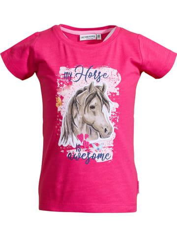 """Salt and Pepper Koszulka """"Awesome"""" w kolorze różowym"""
