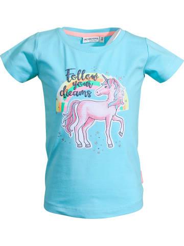 "Salt and Pepper Koszulka ""Dreams"" w kolorze turkusowym"