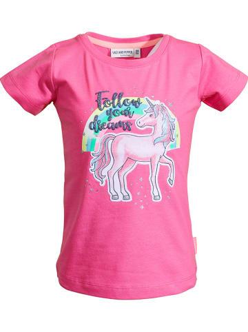 """Salt and Pepper Koszulka """"Dreams"""" w kolorze różowym"""