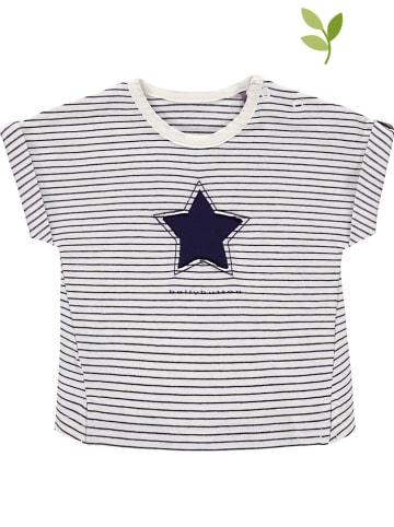 Bellybutton Shirt wit/donkerblauw