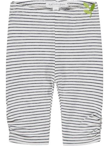 Bellybutton Legging wit/donkerblauw