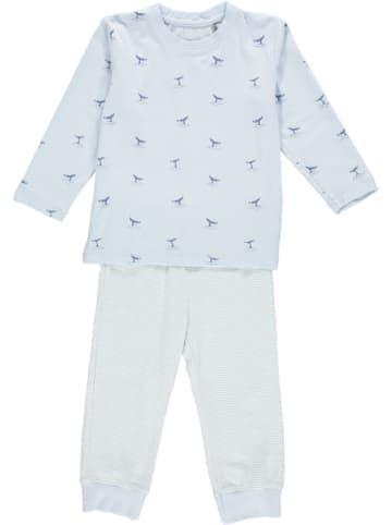 Bellybutton Pyjama in Hellblau/ Weiß