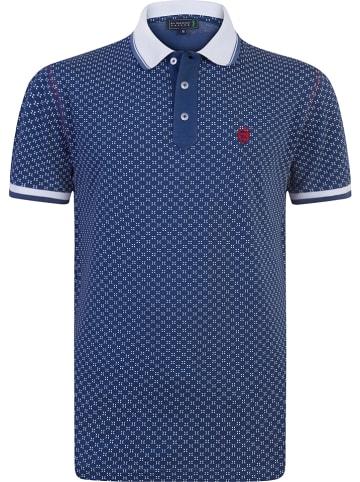 """SIR RAYMOND TAILOR Koszulka polo """"Aran"""" w kolorze niebiesko-białym"""