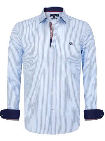 """SIR RAYMOND TAILOR Koszula """"Tiziano"""" - Regular fit - w kolorze błękitno-białym"""