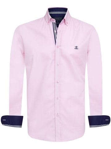 "SIR RAYMOND TAILOR Koszula ""Oxen"" - Regular fit - w kolorze jasnoróżowym"