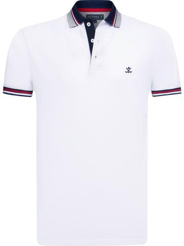 """SIR RAYMOND TAILOR Koszulka polo """"Gary"""" w kolorze białym"""