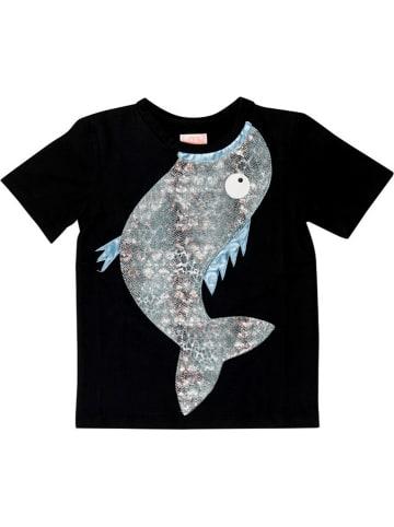 """WAUW CAPOW Shirt """"Fishing"""" zwart"""