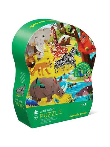 """Crocodile Creek Puzzle """"Dzikie Safari"""" 72 el. - 4+"""