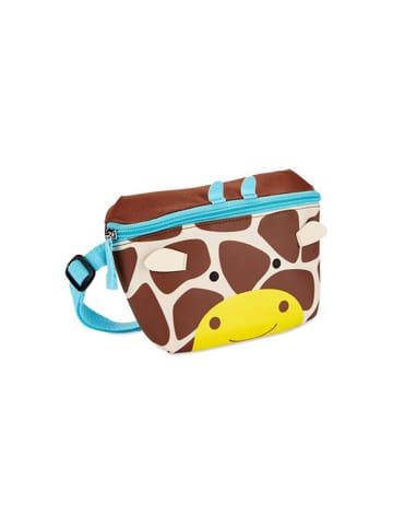 """Skip Hop Saszetka """"Zoo Żyrafa"""" w kolorze beżowo-brązowym - (S)19 x (W)12,7 x (G)1,9 cm"""