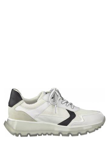 Marco Tozzi Sneakers wit/zwart