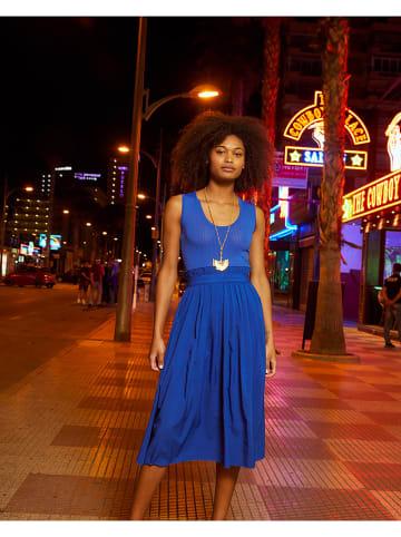 Rodier Sukienka w kolorze niebieskim