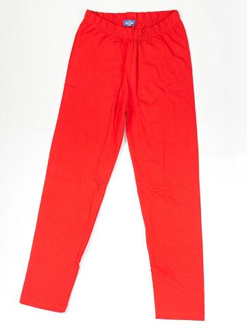 PicK OuiC Legginsy w kolorze czerwonym