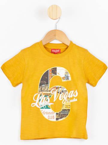 PicK OuiC Koszulka w kolorze żółtym