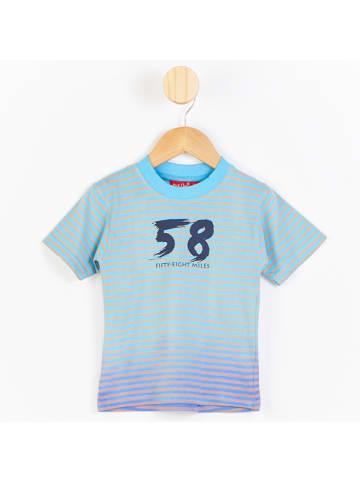 PicK OuiC Koszulka w kolorze błękitnym