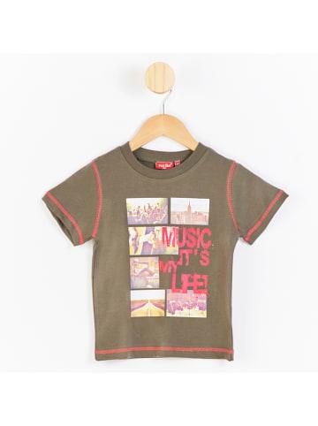 PicK OuiC Koszulka w kolorze khaki