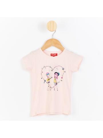 PicK OuiC Koszulka w kolorze jasnoróżowym