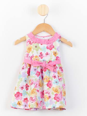 PicK OuiC Sukienka w kolorze jasnoróżowym ze wzorem