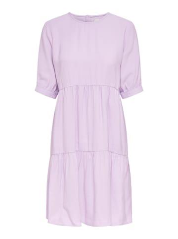 """ONLY Sukienka """"Onlaris"""" w kolorze fioletowym"""