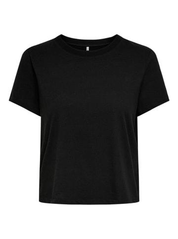 """ONLY Koszulka """"Onlama Life"""" w kolorze czarnym"""